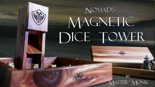 The Nomad s Magnetic Dice Tower - Master Monk