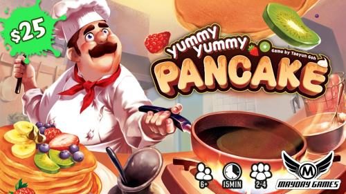 Yummy Yummy Pancake 2-4 Player 15 minute Dexterity Game