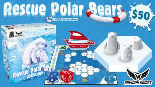 Rescue Polar Bears: Data & Temperature 1-4 Player Coop Game