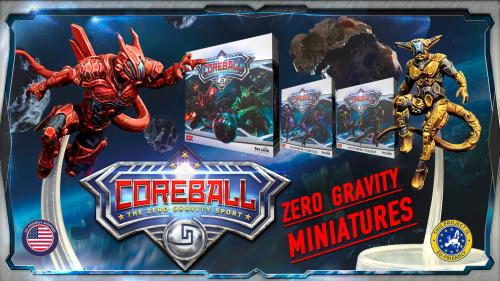 CoreBall: The Zero-G Sport - A game with flying miniatures!