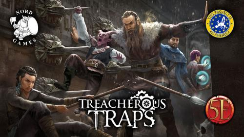 Treacherous Traps for 5th Edition!