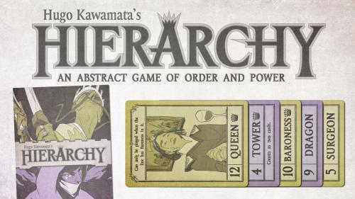 Hierarchy - An abstract game of order and power