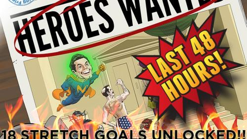 Heroes Wanted - a tactical board game for 1-5 heroes.