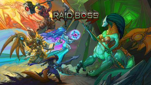 Raid Boss: A Dangerous Cooperative Battle for 1-4 Heroes