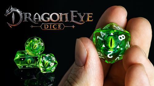 Dragon Eye Dice - The Chromatic Dragon Collection