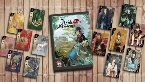 Quickstarter: Jixia Academy