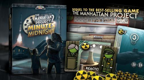 Manhattan Project 2: Minutes to Midnight - board game
