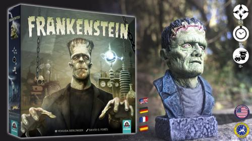 Frankenstein. A monster building game.