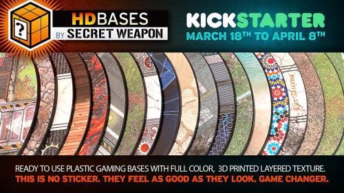 HD Bases by Secret Weapon Miniatures