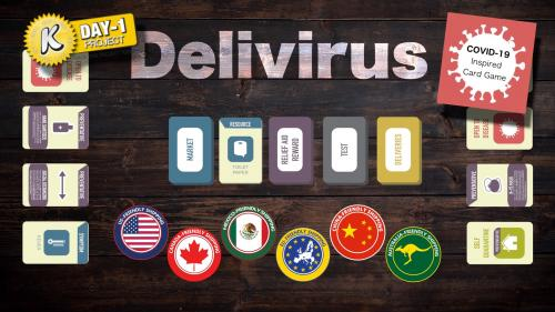 Delivirus - Card Game