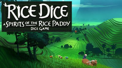 Rice Dice - A Spirits of the Rice Paddy Dice Game for 1-5
