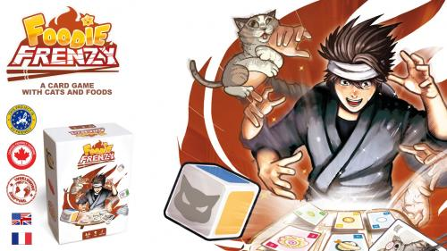 Foodie Frenzy: a card game for cats and food lovers