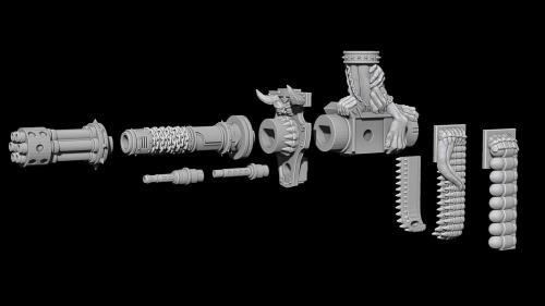 Infernal Mech Gun