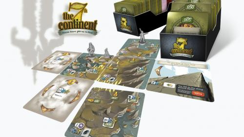 THE 7th CONTINENT - Explore. Survive. YOU are the hero!