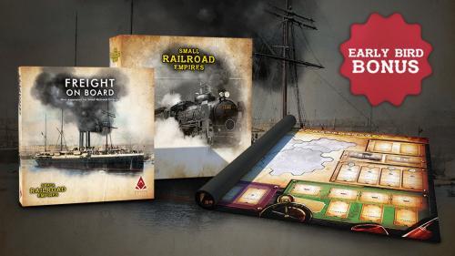 Small Railroad Empires + mini expansion + playmat