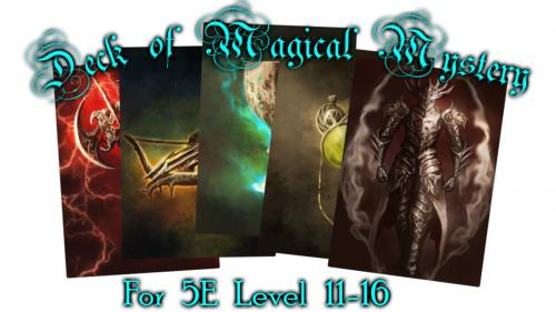 Deck of Magical Mystery: Tier 3, 5e Compatible