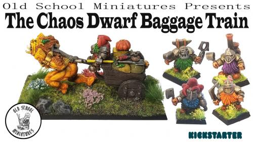 OSM presents The Chaos Dwarf Baggage Train