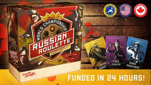 World Championship Russian Roulette by Anthony Burch