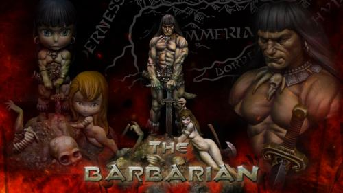 The Barbarian - model kits