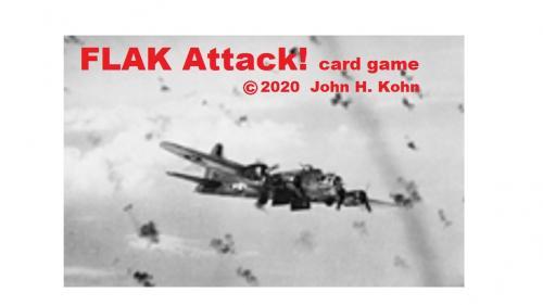 FLAK Attack! card game (manufactured)
