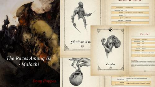 The Races Among Us - ShadowMyths Elementals for RPGs/DnD
