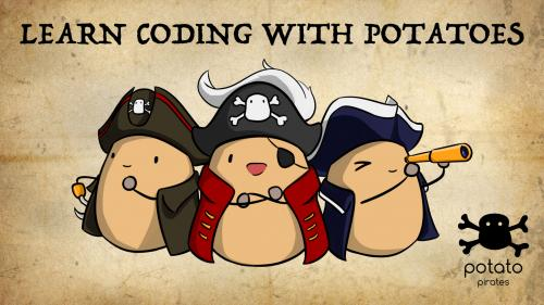 Potato Pirates: The Tastiest Coding Card Game