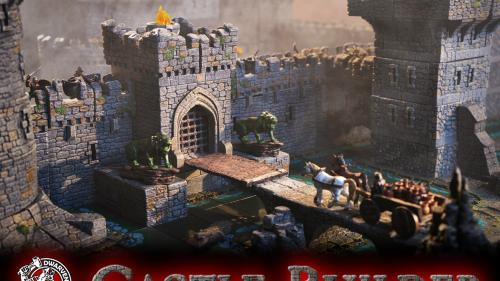 Dwarven Forge s Castles: 3-D Modular Terrain for Gamers