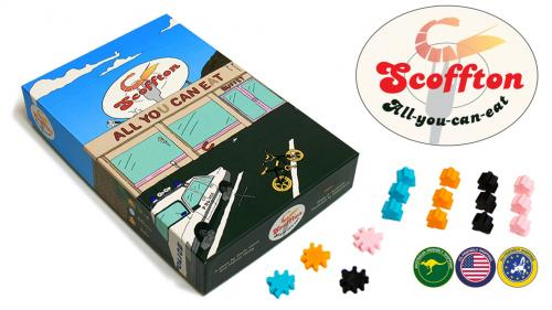 Scoffton, the All You Can Eat Buffet board game!