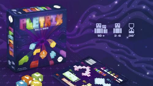 PLETRIX: Roll & Write board game