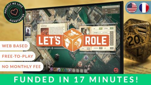 Let s Role - An immersive and Easy-to-use Virtual TableTop