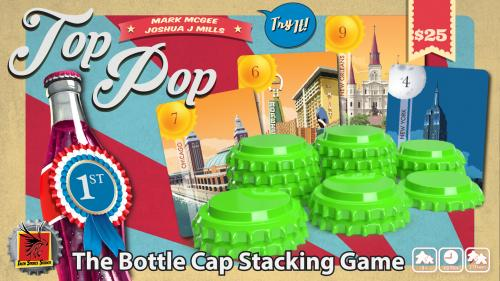 Top Pop - The Bottle Cap Stacking Game