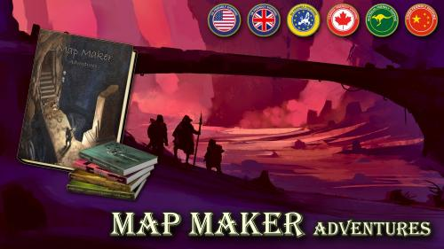 Map Maker Adventures - Dungeon Crawl RPG for 1-4 players