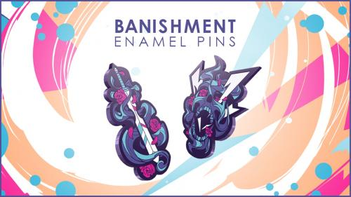 Banishment Collection Enamel Pins