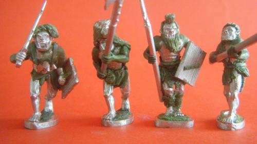 Half Orc Horde, Old School Fantasy Miniatures