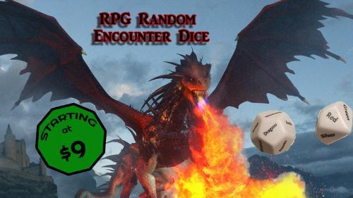 RPG Random Encounter Dice
