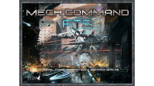 Mech Command RTS - A Real Time Strategy Board Game