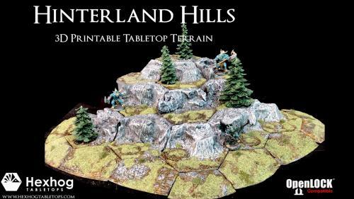 Hexhog Tabletops: Hinterland Hills