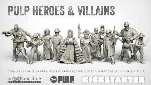 Pulp Heroes and Villains - 28mm Miniatures