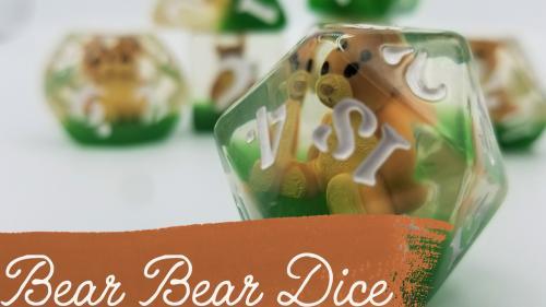 Bear Bear Jumbo Dice