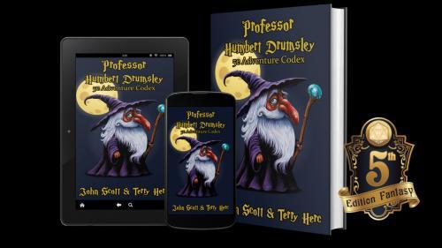 Professor Humbert Drumsley: 5e RPG Adventure Codex