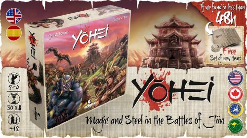 YOHEI: Magic and Steel in the Battles of Jiin