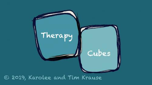 Therapy Cubes: An Interactive Story-Telling Dice Game