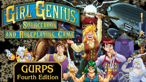 GURPS Girl Genius Roleplaying Game