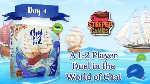☕️ Chai: Tea for 2—A Tea Board Game Duel!