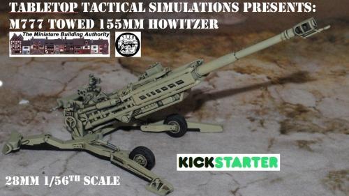 M777 155mm towed Howitzer Kickstarter