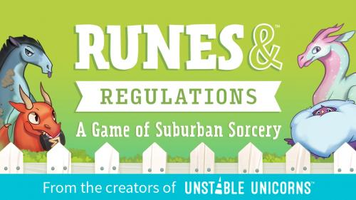 Runes & Regulations: A Game of Suburban Sorcery