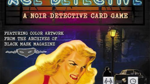 ACE DETECTIVE:Storytelling Game featuring Black Mask Artwork