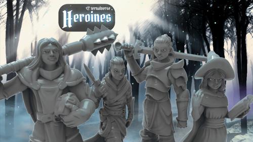 Eternalverse Heroines Miniature Collection
