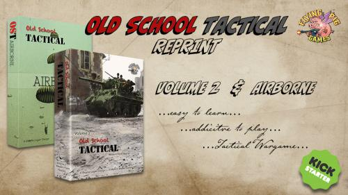 Old School Tactical VOL II: West Front and Airborne! Reprint