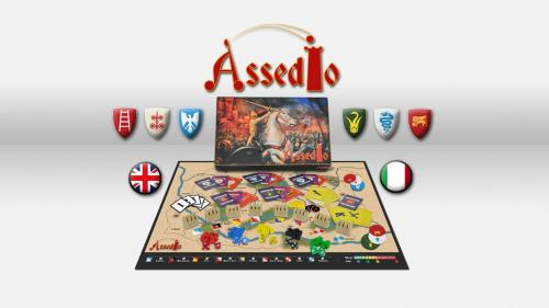 ASSEDIO: Medieval boardgame sets in north east of Italy